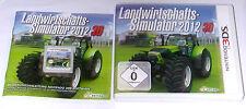 """Nintendo 3ds juego """"políticas agrícolas simulador 2012"""" completamente/embalaje original/alemán"""