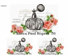 VinTaGe ImaGe Xl PaRiS FrenCh PeRfuMe LaBeLs ShaBby WaTerSliDe DeCals Fl70