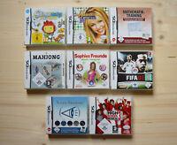 NDS - 8 Spiele für Nintendo DS in OVP (Set 8)