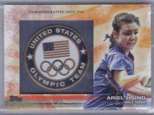 Ariel Hsing 2012 Topps U.S. Olympic Team & Hopefuls USOC Pin Logo #PIN-AH