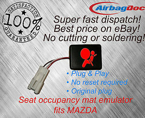Mazda 626 6 323 premacy mx5 airbag passenger seat occupancy sensor emulated