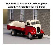 HO SCALE: 1938-39 Ford COE w/Fuel Tank Body by Sylvan - Kit V-154