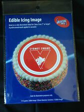 Official AFL Sydney Swans Edible Icing Cake Topper