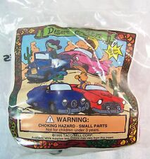 1995 Vintage Taco Bell Premium Desert Cruisers COYOTE Purple Car Toy MIP C10!