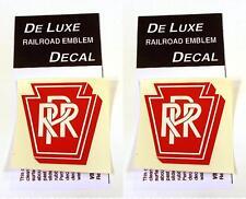 DeLuxe By Virnex Decals Pennsylvania Railroad Herald D-113 -Two Decals-