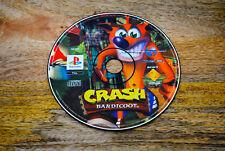Jeu CRASH BANDICOOT sur Playstation 1 PS1 REMIS A NEUF