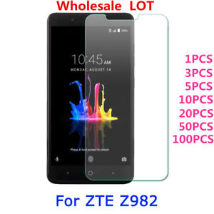 Tempered Glass PET Screen Protector For ZTE Blade Z Max/Z982/ZMax Pro 2 Lot