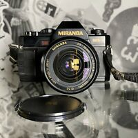 MIRANDA MS-3 35mm Film SLR Manual Camera 28-70mm Lens Lomo Retro Student?