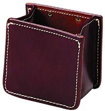 Triple K Leather Shotshell Shotgun Snap-On Belt Carrier, Large, Walnut Oil Plain