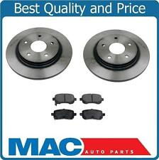 Rear Disc Brake Rotors & Ceramic Pads For 08-14 Town & Country With 305MM Rotor