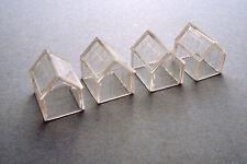 Kestrel KD22 - Greenhouses x 4 N Gauge 18mm x 14mm x 18mm  Plastic Kit 1st Post