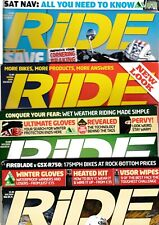 Various Issues of RIDE Magazine from February 2005 to August 2016