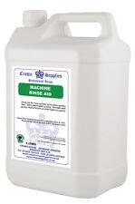2x 5 litres professionnel rinse aid pour verre/dishwash
