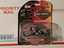 1958 FLH DUO GLIDE HARLEY DAVIDSON MOTORCYCLE H-D 1:24 COLLECTIBLE DIECAST 2009