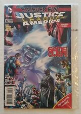 Justice League of America #12 NM+ (DC,2014) Factory Sealed Rare!! The New 52!