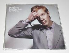 AQUALUNG - BRIGHTER THAN SUNSHINE - 2003 UK 1 TRACK PROMO CD SINGLE