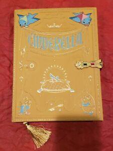 Disney Cinderella Storybook Replica Journal Notebook - New!
