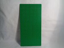 "LEGO Large 16 X 32  - 10"" X 5"" Grass Green Standard Flat Base Plate"