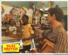 TAXI DRIVER original 1976 lobby card ROBERT DE NIRO 11x14 movie poster