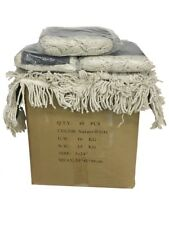 40ct. Box Industrial 24x5 Dust Mop Pad Cotton Yarn Head Refill Replacement