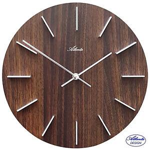 Atlanta 50 Reloj de Pared Oficina Cocina la Sala Trabajo para Salón Ø 29CM 254