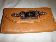 Radley Brown Leather Purse Rare!!!!