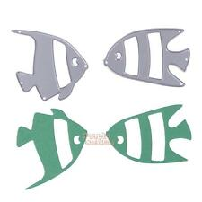 Metal Fish DIY Cutting Dies Stencil Scrapbook Album Paper Card Embossing Craft