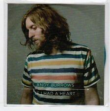 (EA909) Andy Burrows, If I Had A Heart - 2013 DJ CD