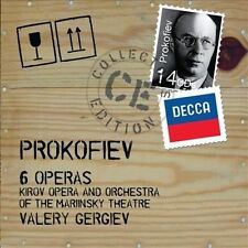 NEW Prokofiev: Six Operas (Audio CD)