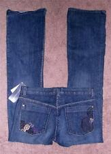 $138 NWT FCUK French Connection Embroidered Pocket Bootcut Jeans 6