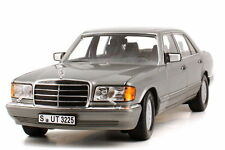NOREV MERCEDES BENZ 560 SEL Grey EURO 1:18 Almost Sold Out! Last Pcs Left!