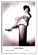 Lotti Loder (C) Swiftsure Postcard year 2000 modern print P138/3 glamour photo