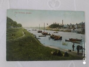 old postcard of boston,lincolnshire