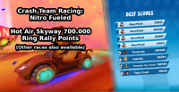 Crash Team Racing Nitro Fueled 🔥 CTR Ring Rally Points ✅ READ DESCRIPTION