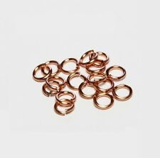 16 Ga Wire Solid Copper Jump Ring  (6 MM O/D   ) Pkg. of 190 / SAW-CUT
