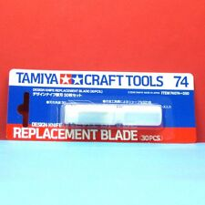 Tamiya #74074 Design Knife Replacement Blade (30pcs)