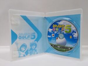 PlayStation3 -- Everybody's Golf -- w/o manual. the Best Ver. PS3. JAPAN. 52511