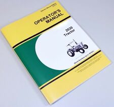 OPERATORS MANUAL FOR JOHN DEERE 2030 TRACTOR SN UP TO 187301 OWNERS MAINTENANCE