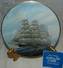 "Mib 1981 Golden Age of Sail ""Great Republic"" #5 by Charles Lundgren Plate"