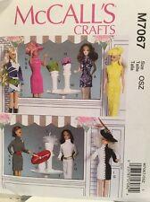 McCall's Crafts Pattern M7067 Barbie Pattern