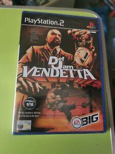 Def Jam Vendetta (Sony PlayStation 2, 2003) factory sealed