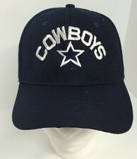 Dallas Cowboys Navy Blue Baseball Hat New One Size Velro Back