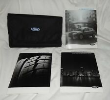 2015 Ford Focus Owner's Manual With Case And Warranty Guide