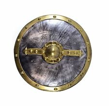 ADULT ANCIENT ROMAN WARRIOR ROUND SHIELD FANCY DRESS SOLDIER #ACCESSORY