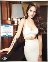 EIZA GONZALEZ Signed 11x14 Photo Actress Auto Autograph~ Beckett BAS COA