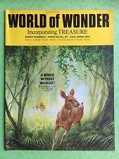 World of Wonder - no.57 - 24 avril 1971 - Un monde sans Wildlife ? - MAGAZINE