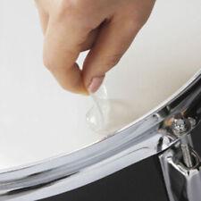 12pcs chiaro rullante muto pad drum damper gel pads snare drum silenziatore CRIT