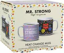 Brand New Mr Strong Heat changing Change Mug boxed Based Rodger Hargreaves Books