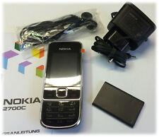 Nokia  2700 classic - Black (Ohne Simlock) Handy Neuware