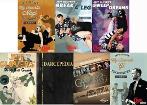 Jeff Glover Complete 7 Budo DVD Collection BJJ NEW